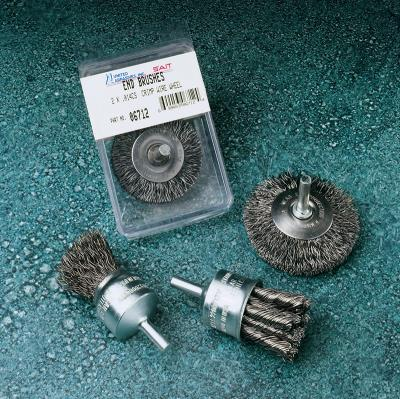 "1"" .020 KNOT TYPE END BRUSH - P/N 02701"