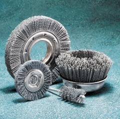"1-1/2"" 320X NYLON BRUSH WHEEL"