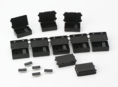 "Conductive Single Device Carrier, 1.55"" x 1.01"" x 0.46"""