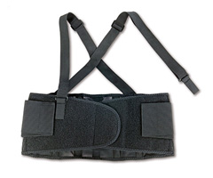 ProFlex® 100 Economy Back Support, Black, Small