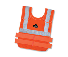 Chill-Its® 6200S Phase Change Cooling Vest  Orange S/M