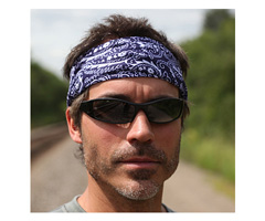 Chill-Its® 6600-IS High Perf Bandana w/Insect Shield® Navy Western