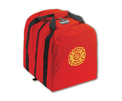 Arsenal® 5063 Step-In Tall Gear Bag, 5400ci, Red