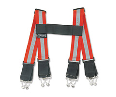 "Arsenal® 5091 Reflective Suspenders 38"" Red"