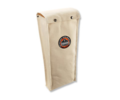 Arsenal® 5792 Large Glove Bag, White, Large