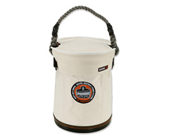Arsenal® 5734T Small Bucket w/ Safety Top, White, Small