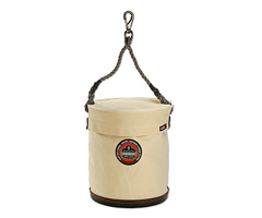 Arsenal® 5743T Large Bucket w/ Safety Top and Snap, White, Large