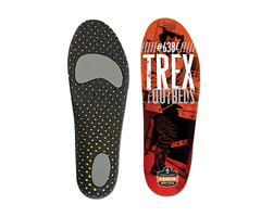 Trex™ 6384 Standard Footbed, Orange & Black, Large