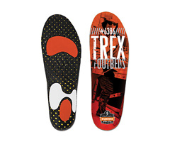 Trex™ 6386 High-Performance Footbed, Orange & Black, 3XL