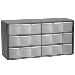 18 Drawer 17-Series Steel Storage Cabinets - P/N 17018