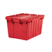 13 Gallon All-Plastic Tote, RED, 6 per carton.
