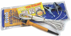 12 Volt Auto Repair Kit with carrying pouch and solder