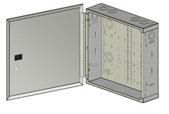 Hinged Door Structured Wiring Enclosure