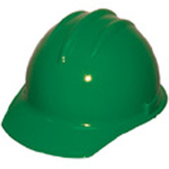 6pt, Pinlock, Classic Cap Style Hard Hat, Kelly Green