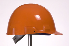 4pt, Pinlock, Type II Helmet, Orange