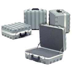 "11.25"" Grey FoamFilled Case 17.75x14.25x11.25"