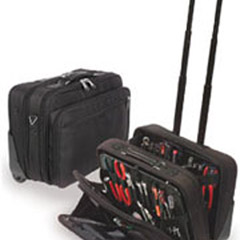 "9"" Rolling Soft Laptop/Toolcase-Holds 2 Optional WP Pallets   18x13x9"