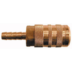 "1/4"" HOSE BARB 6 POINT COUPLER INL INT"