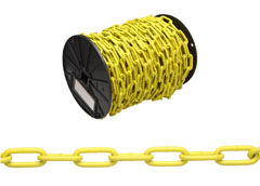 CHAIN,2/0 ST COIL YEL,120FT