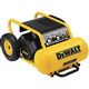 1.5 HP Continuous, 175 PSI, 7.5 Gallon Electric Wheeled Portable Compressor - P/N D55171