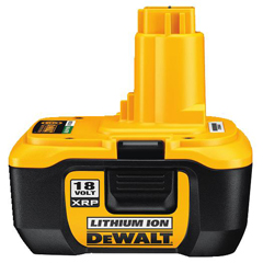 Heavy Duty 18 Volt Battery Pack with NANO™ Technology