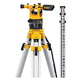 20X Builders Level Package - Includes Tripod, Grade Rod, Plumb Bob, Kit Box