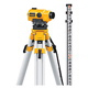 20X Auto Level Package - Includes Tripod, Grade Rod, Plumb Bob, Kit Box
