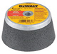 "4"" x 2"" x 5/8""-11 Metal Grinding Steel Backed Cup Wheel"