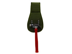 Hammer Holster, Green Woven Nylon, Belt Loop