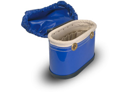 Aerial Tool Bucket w/Hard Body & attached Cover