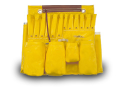 Aerial Tool Apron, Yellow Vinyl-2 Man Bucket