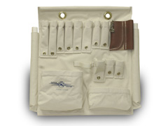 Aerial Tool Apron, Canvas,