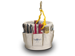 "Splicer Tool Bucket   12"" x 12"" w/Plastic Bottom & Snap"