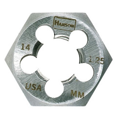 18.0 mm - 1.00 mm, HCS Hex Rethread Right Hand Die - Bulk