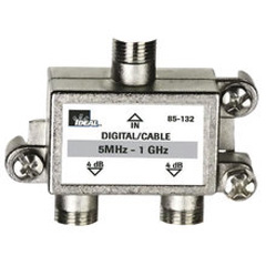 High Performance Cable Splitter, 5MHz-1GHz 2-Way, Card of 1