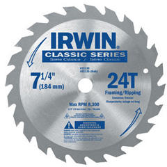"10"" x 24T Circular Saw Blade for Wood"