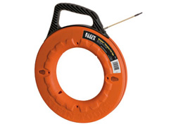"Navigator™ Fiberglass Fish Tape - 50' x 3/16""  (with 7"" Leader)"