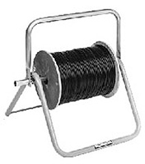 "Cable Caddy Max. Reel Size 18 x 16"", 200 lb capacity"