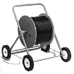 "Cable Caddy Max reel size 30 x19"", 300 lb capacity"