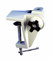 Drafting Board Bracket - for edge mounting on indirect surfaces and drafting boards.Black