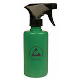 TRIGGER SPRAY, GREEN LOW CHARGING LDPE, 8 OZ