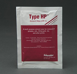 SpliceMaster® HP-Saturated, lint-free wipe