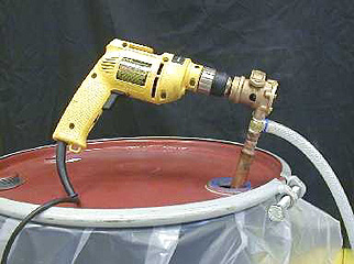 Polywater® Drill-Operated Lubricant Pump