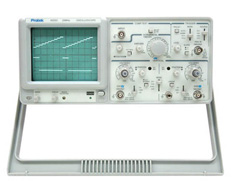 Analog Oscilloscope 25 MHz with Component Checker