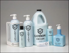 "IC LOTION ""BLUE"" 8 oz in ESD Bottle"