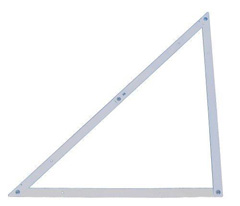 4' Aluminum Folding Square