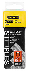 "1,000 Units 3/8"" Cable Staples"
