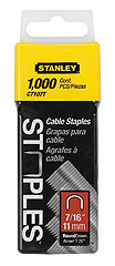 "1,000 Units 7/16"" Cable Staples"