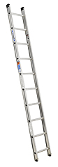 10' Aluminum Single Ladder Type IA 300 Lbs Duty Rating