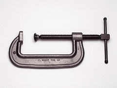 "6"" Heavy Service Forged C-Clamp"